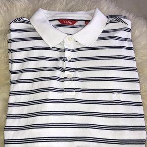 IZOD striped polo shirt